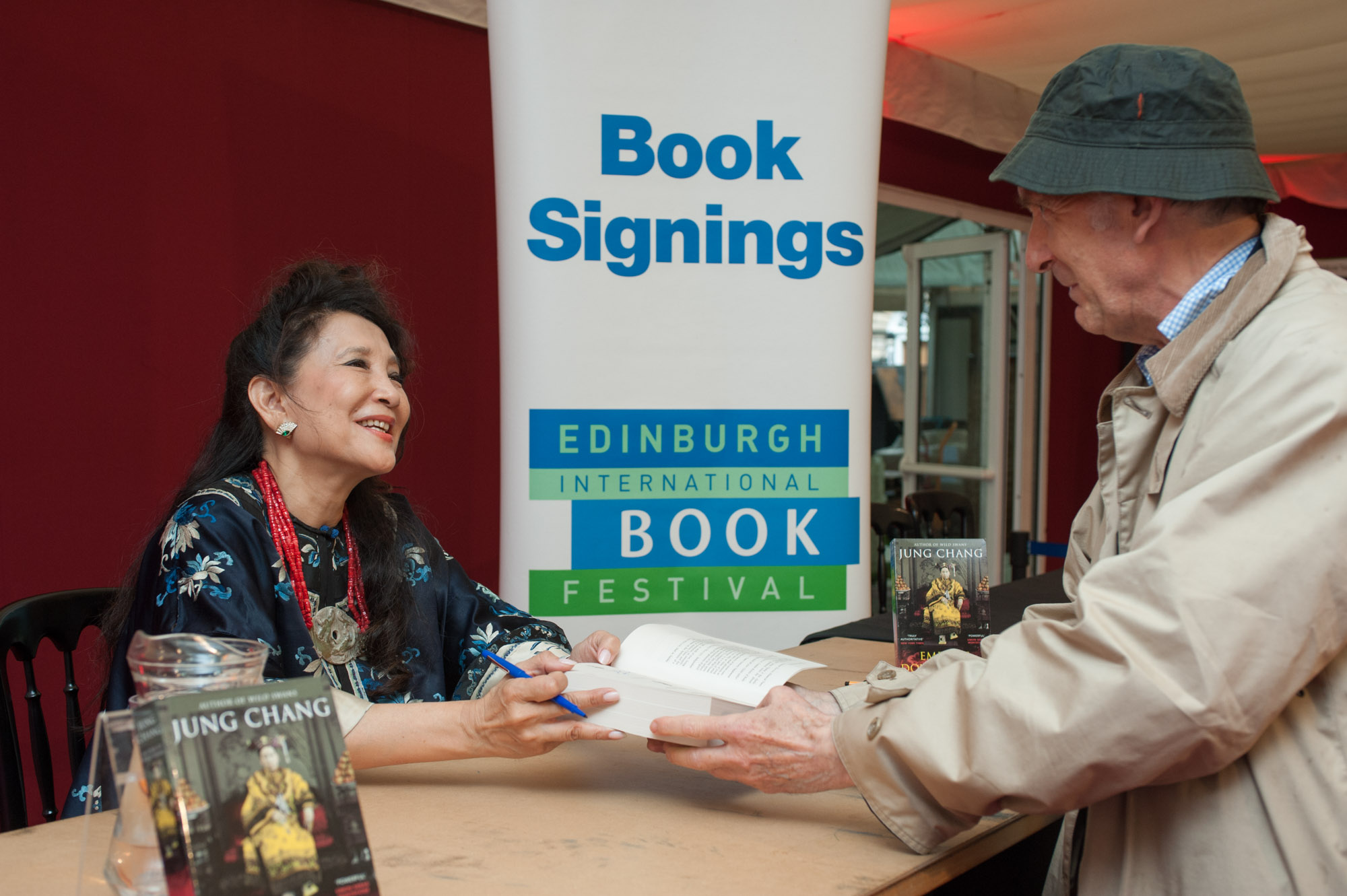 Jung Chang book signing at Edinburgh International Book Festival